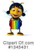Female Bee Clipart #1345431 by Julos