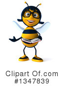 Female Bee Clipart #1347839 by Julos