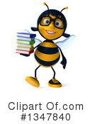 Female Bee Clipart #1347840 by Julos