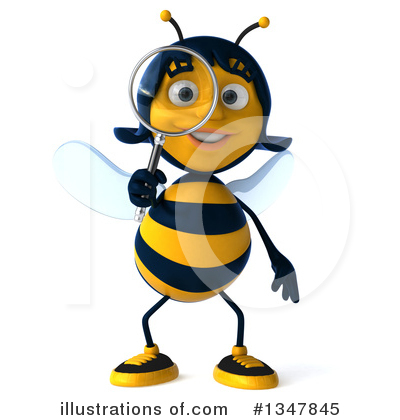 Bee Clipart #1347845 by Julos