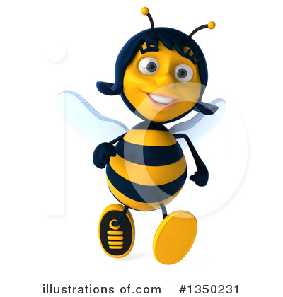 Bee Clipart #1350231 by Julos