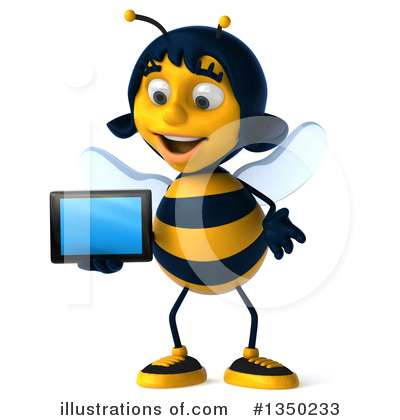 Bee Clipart #1350233 by Julos