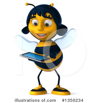 Bee Clipart #1350234 by Julos