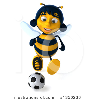 Bee Clipart #1350236 by Julos