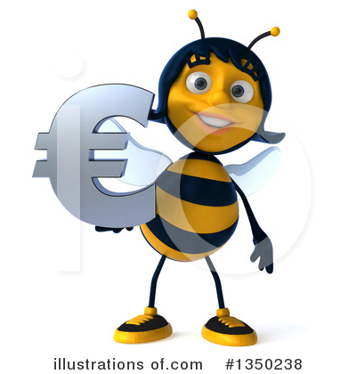 Bee Clipart #1350238 by Julos