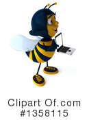 Female Bee Clipart #1358115 by Julos