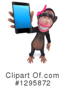 Female Chimpanzee Clipart #1295872 by Julos