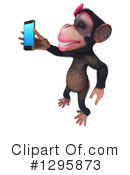 Female Chimpanzee Clipart #1295873 by Julos
