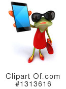 Royalty-Free (RF) Female Frog Clipart Illustration #1313616