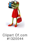 Royalty-Free (RF) Female Frog Clipart Illustration #1320044