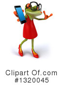 Royalty-Free (RF) Female Frog Clipart Illustration #1320045