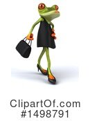 Royalty-Free (RF) Female Frog Clipart Illustration #1498791