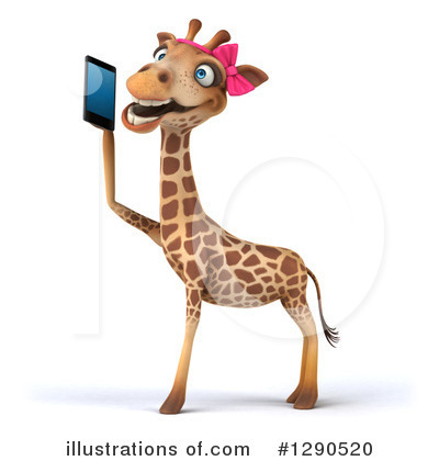 Female Giraffe Clipart #1290520 by Julos