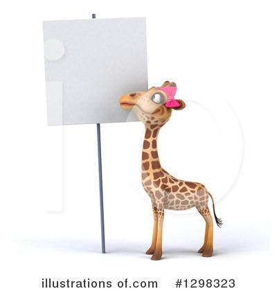 Female Giraffe Clipart #1298323 by Julos