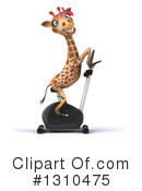 Female Giraffe Clipart #1310475 by Julos