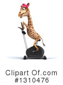 Female Giraffe Clipart #1310476 by Julos