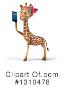 Female Giraffe Clipart #1310478 by Julos