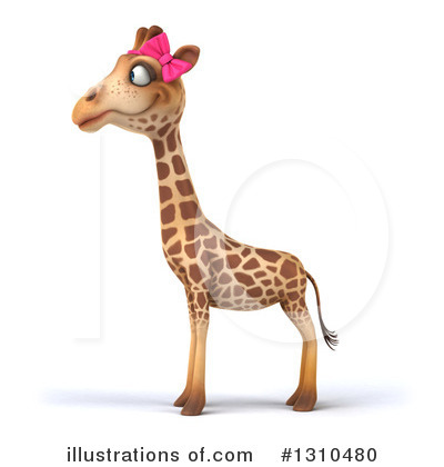 Female Giraffe Clipart #1310480 by Julos