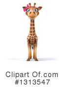 Royalty-Free (RF) Female Giraffe Clipart Illustration #1313547