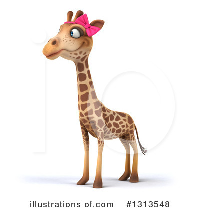 Female Giraffe Clipart #1313548 by Julos