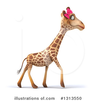 Female Giraffe Clipart #1313550 by Julos