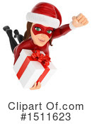 Female Santa Clipart #1511623 by Texelart