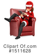 Female Santa Clipart #1511628 by Texelart