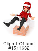 Female Santa Clipart #1511632 by Texelart