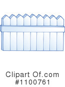 Royalty-Free (RF) Fence Clipart Illustration #1100761