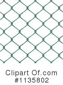 Royalty-Free (RF) Fence Clipart Illustration #1135802