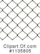 Royalty-Free (RF) Fence Clipart Illustration #1135805