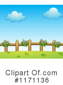 Royalty-Free (RF) Fence Clipart Illustration #1171136