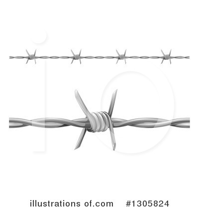 Fencing Clipart #1305824 by AtStockIllustration