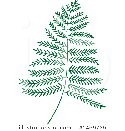 Leaf Clipart #1459735 by Cherie Reve