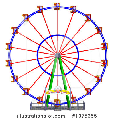 free ferris wheel clip art: royalty free rf ferris wheel