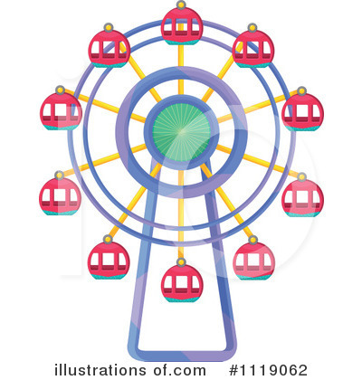 Amusement Park Clipart #1119062 by Graphics RF