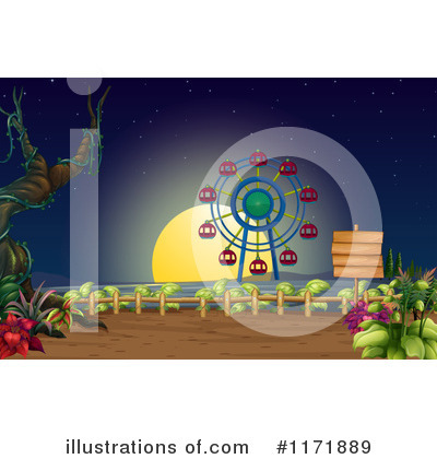 Amusement Park Clipart #1171889 by Graphics RF