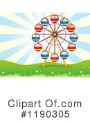 Ferris Wheel Clipart #1190305 by Graphics RF