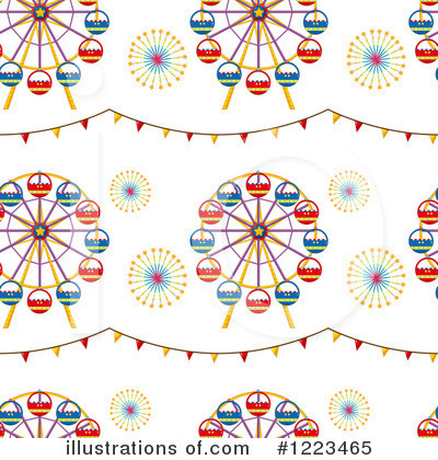 Amusement Park Clipart #1223465 by Graphics RF