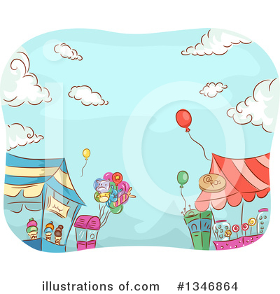 Amusement Park Clipart #1346864 by BNP Design Studio
