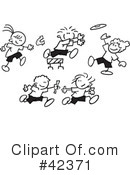 Royalty-Free (RF) Field Day Clipart Illustration #42371