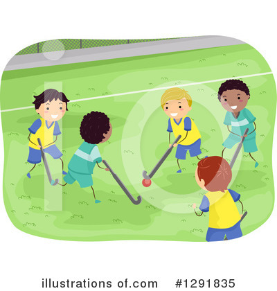 Hockey Clipart #1291835 by BNP Design Studio
