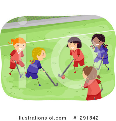 Hockey Clipart #1291842 by BNP Design Studio