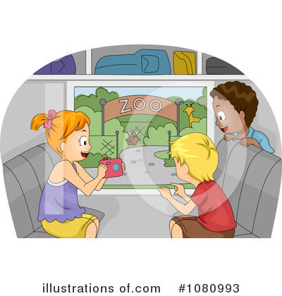 Bus Clipart #1080993 by BNP Design Studio