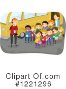 Royalty-Free (RF) Field Trip Clipart Illustration #1221296