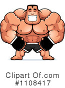 Royalty-Free (RF) Fighter Clipart Illustration #1108417