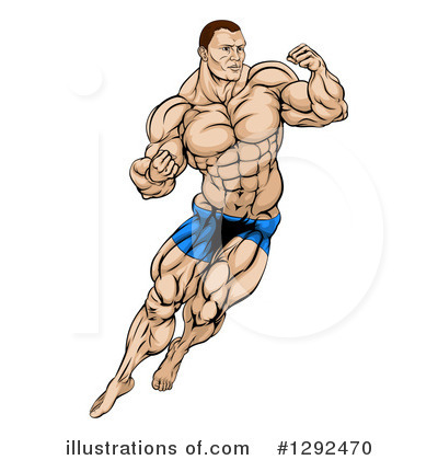 Muscles Clipart #1292470 by AtStockIllustration