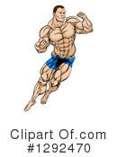 Royalty-Free (RF) Fighter Clipart Illustration #1292470