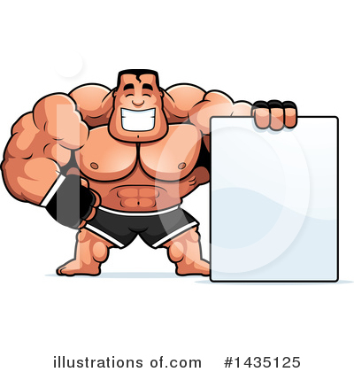 Boxer Clipart #1435125 by Cory Thoman