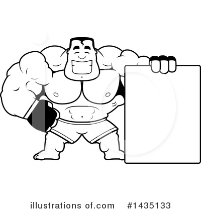Boxer Clipart #1435133 by Cory Thoman